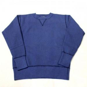 TWO MOON / no.92022 Sweat Shirt_I Blue