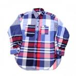 Engineered Garments / Work Shirt_Big Madras Plaid