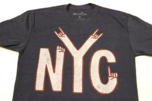 PALMER CASH / NYC Hands Print Tee