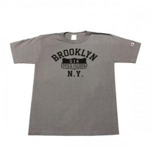 CHAMPION / T1011 BROOKLYN Print Tee