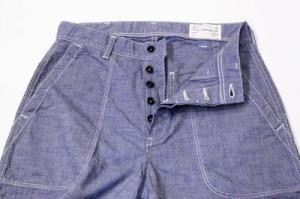 FULL COUNT / 1309-2 USN Seamens Pinhead Trousers