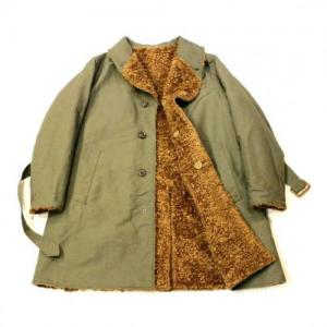 Engineered Garments / Shawl Collar Reversible Coat