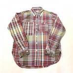 Engineered Garments / Work Shirt_Big Plaid