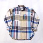 Engineered Garments / Work Shirt_Big Madras Plaid