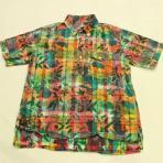 Engineered Garments /Popover Shirt_Print on Plaid