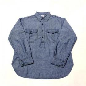 CORONA / CS003 Navy Pullover Shirt