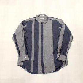 Engineered Garments / Short Collar Shirt_mini Ging