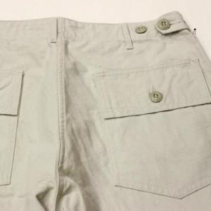 CORONA / CP088 Utility Slacks_Takeyari Cotton Duck