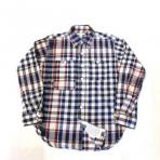 Engineered Garments / Work Shirt_Big Plaid Madras