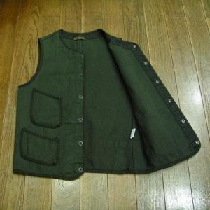 BROWN'S BEACH JACKET/ Covert Vest