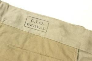 FRENCH MILITARY/ DeadStock French Army Chino Short