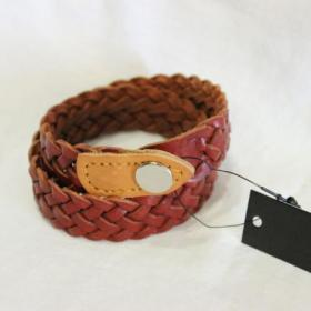 ANGLO LEATHER CRAFT / Double Wrap Bracelet