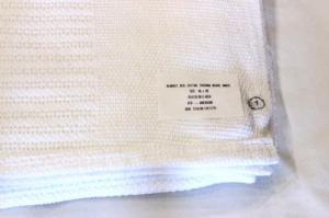 US MILITARY / DeadStock Thermal Weave Blanket