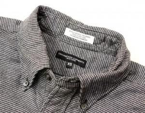 Engineered Garments/19th BD Shirt_houndstooth