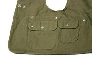 Engineered Garments/ Upland Vest_12oz Duck Canvas
