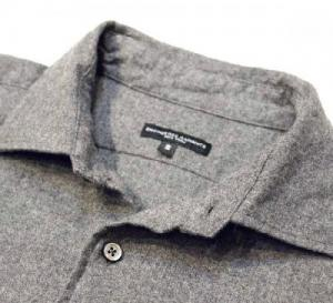 Engineered Garments/ Spread Collar Shirt_Brushed