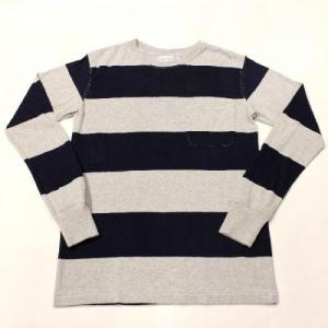 COLUMBIA KNIT/ Long Sleeve Wide Border Tee