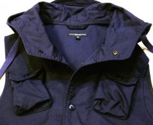 Engineered Garments/ Field Vest_Nyco Ripstop