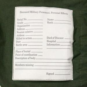 MILITARY / US ARMY Personal Effects Bag_Dead Stock