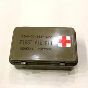 MILITARY / US ARMY First Aid Kit Box_Dead Stock