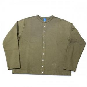 GOOD ON / Crew Sweat Cardigan