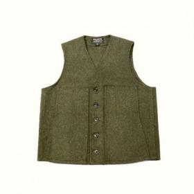 FILSON U.S.A. / Mackinaw Wool Vest_FOREST GREEN