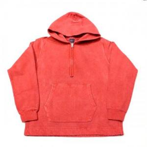 GOOD ON / Rough 1/2 Zip PullOver Hood Sweat