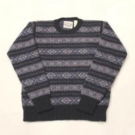 Jamieson's / Fairisle Crewneck Sweater